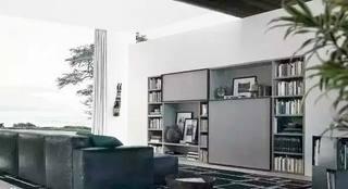 现代简约电视背景墙装修效果图