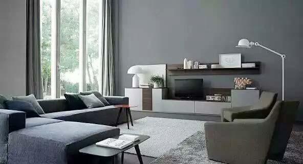 现代简约电视背景墙装修效果图大全