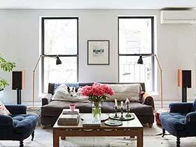 復古同志之家 紐約67平一居室裝修效果圖