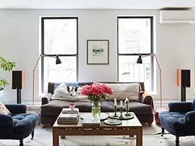 复古同志之家 纽约67平一居室装修效果图