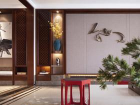 雅致禅意空间 158平中式古典装修