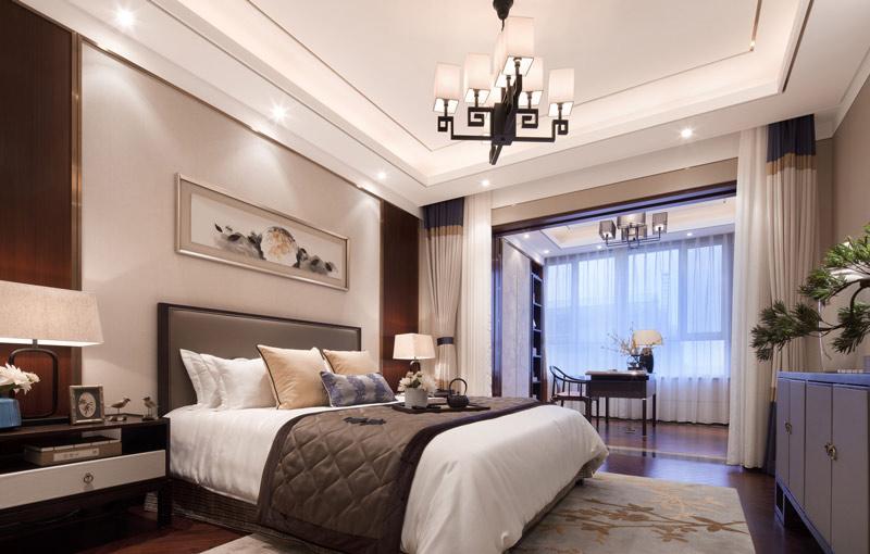 雅致新中式卧室装饰大全