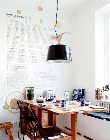 小户型折叠餐桌设计图图片