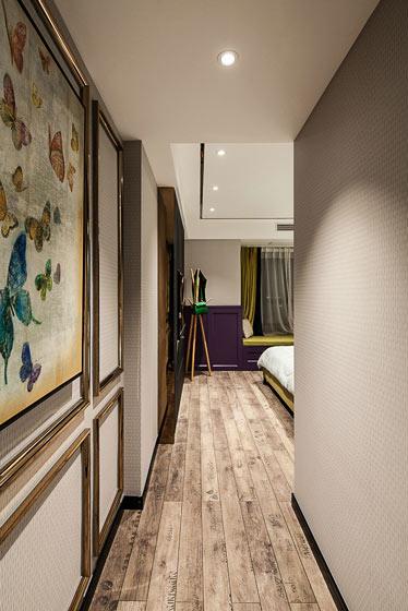 长方形卧室装修效果图大全
