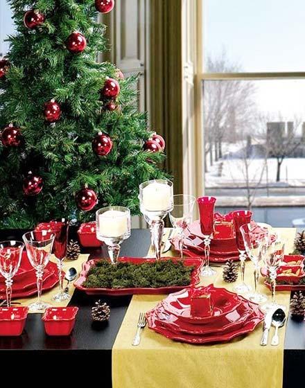 圣诞餐厅装饰装修效果图