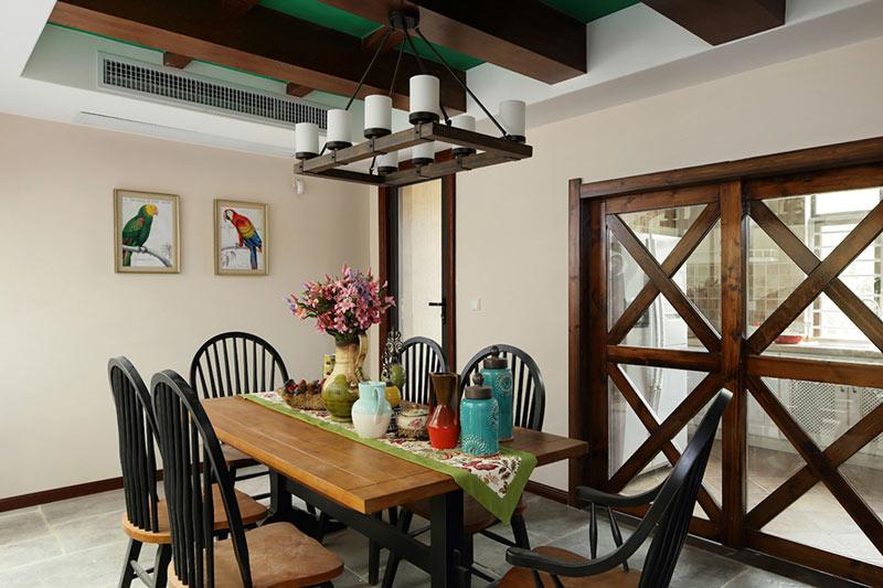 厨房与餐厅隔断装修效果图