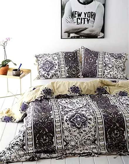 民族风卧室床品图
