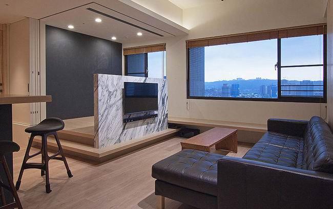 石头电视背景墙装修效果图大全