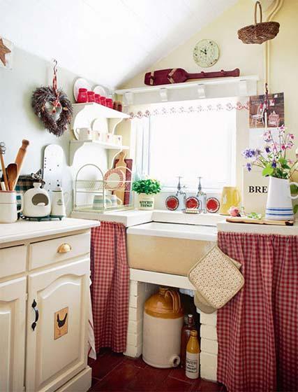 可爱小户型厨房装修图片大全