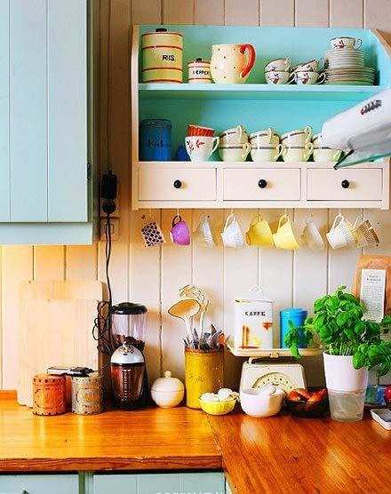 整洁小户型厨房设计图