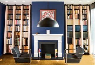 书房壁炉装修效果图