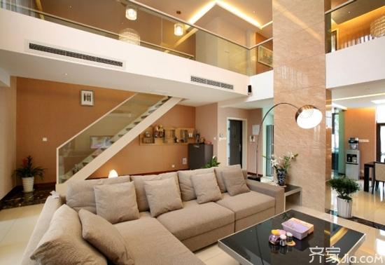 2,跃层装修楼梯要费心图片