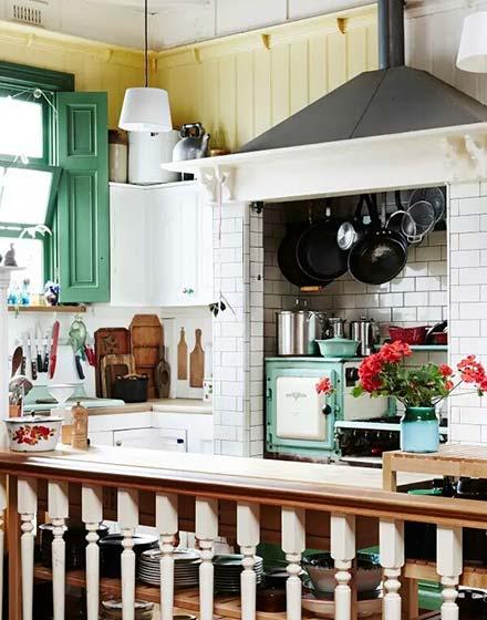 54平挑高小户型厨房装修