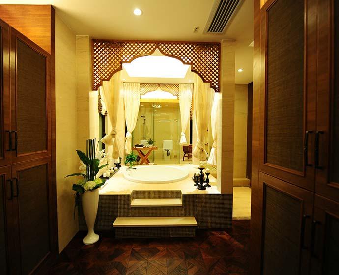 东南亚浴室效果图