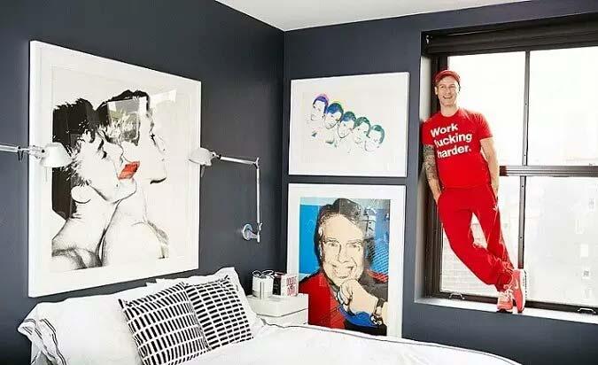 32平单身公寓卧室装修图