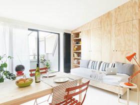 28平小户型装修公寓效果图 可移动城堡