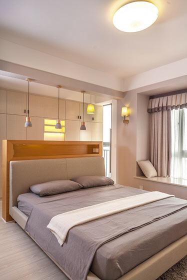 优雅简欧风卧室装修效果图
