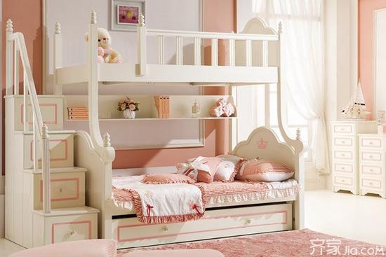 二胎时代可爱别墅床买起来儿童v时代室内环境图片