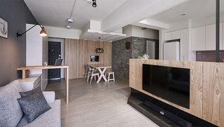 现代简约客厅电视背景墙效果图片