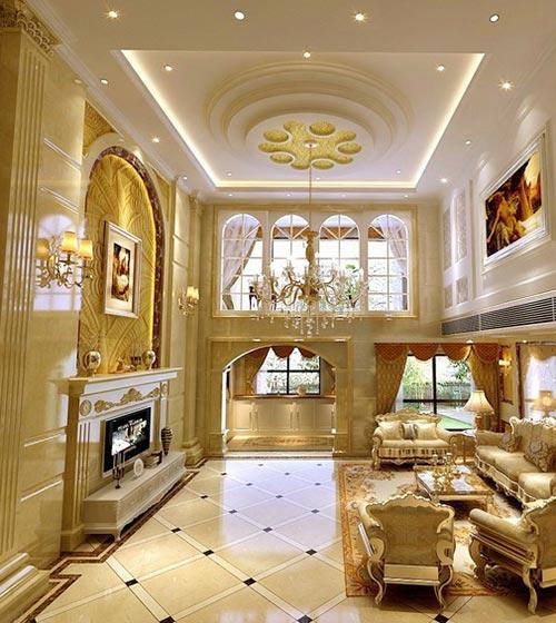 客厅吊顶构造图