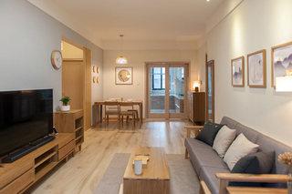 日式风格温馨客厅装修效果图