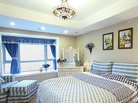 8款卧室装修效果图 文艺格子控最爱