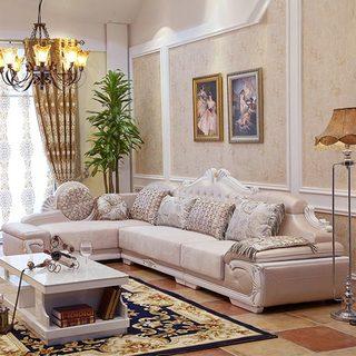 欧式沙发实景图