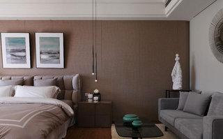 中式豪华大卧室装修效果图