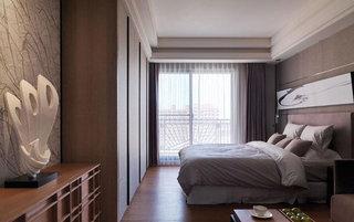 豪华中式风格卧室装修效果图