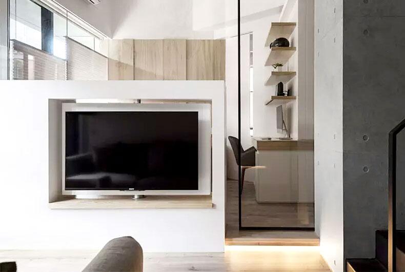 40平单身公寓装修效果图