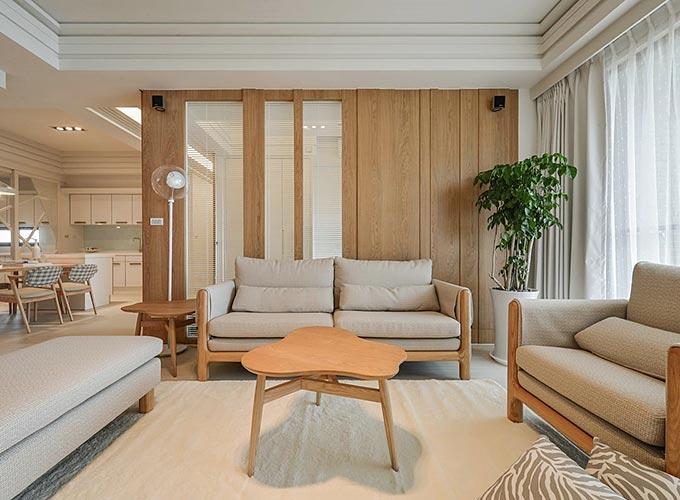 日式客厅装修效果图