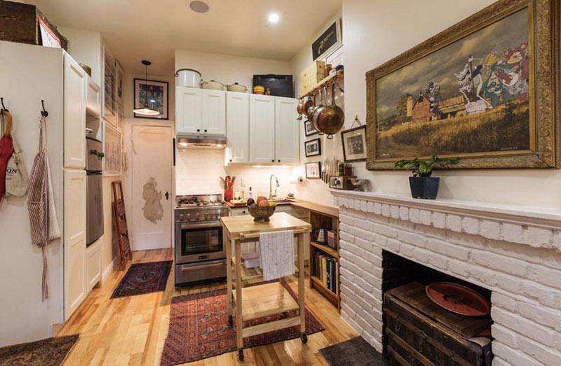 超小户型客厅厨房装修效果图