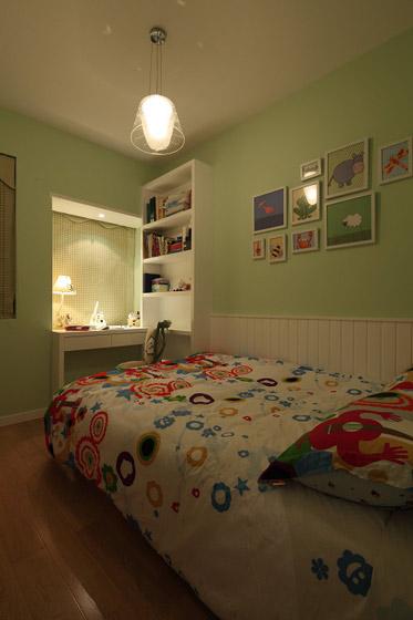 清新美式儿童房吊顶装修效果图