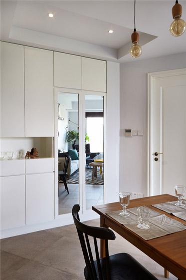 北欧风格小户型餐厅橱柜装修效果图