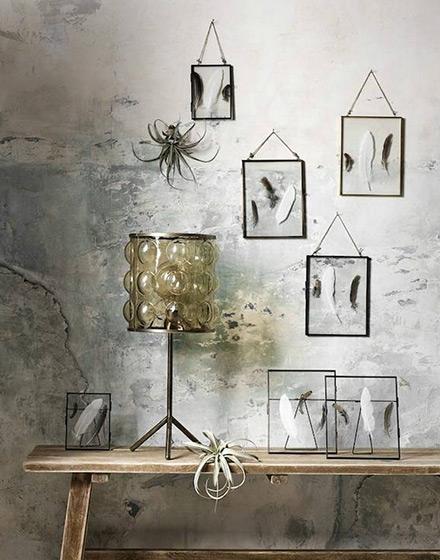 复古工业风格台灯装饰图片