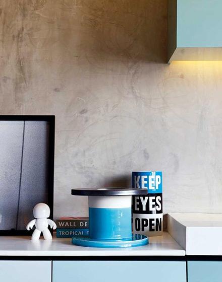 86平单身公寓橱柜台面图片