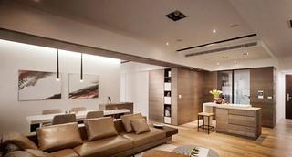中式风格客厅吊顶装修效果图