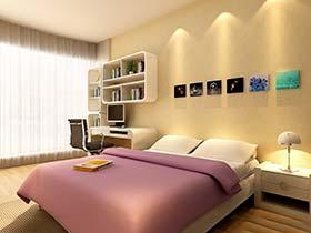 与大白墙说再见 12个卧室背景墙效果图