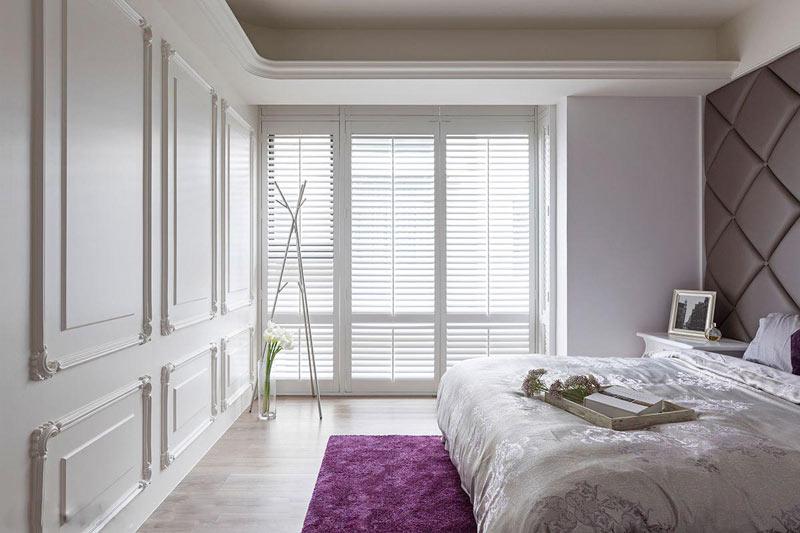 浪漫优雅美式卧室装修效果图