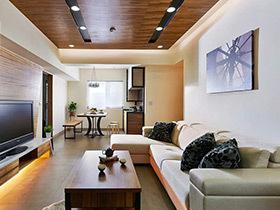 木质老房颜值高 66平米三居旧房改造装修