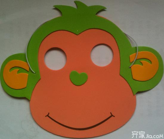 孩子们最喜欢的卡通面具可以在家中用纸