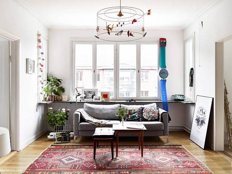 文艺北欧风格 58㎡公寓设计图