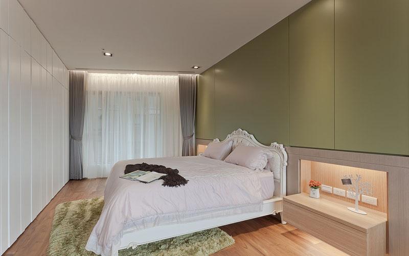简约风格森系舒适卧室装修效果图