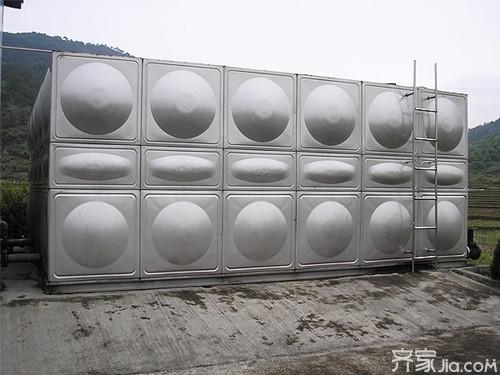 不锈钢水箱价格表 家用不锈钢水箱图片欣赏