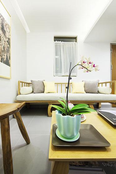 中式风格超小户型客厅装修图片