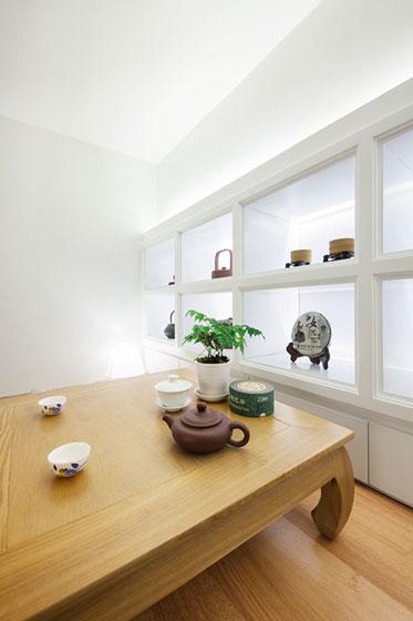 中式风格超小户型茶桌装修效果图