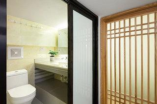 中式风格超小户型卫生间装修效果图