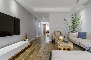 简约日式客厅装修效果图