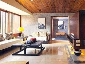 155平日式风格装修三居室 原木引领自然风