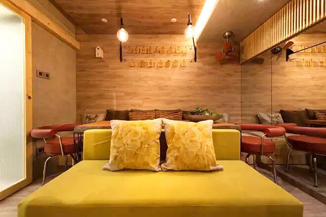 25平老公房多功能沙发床设计